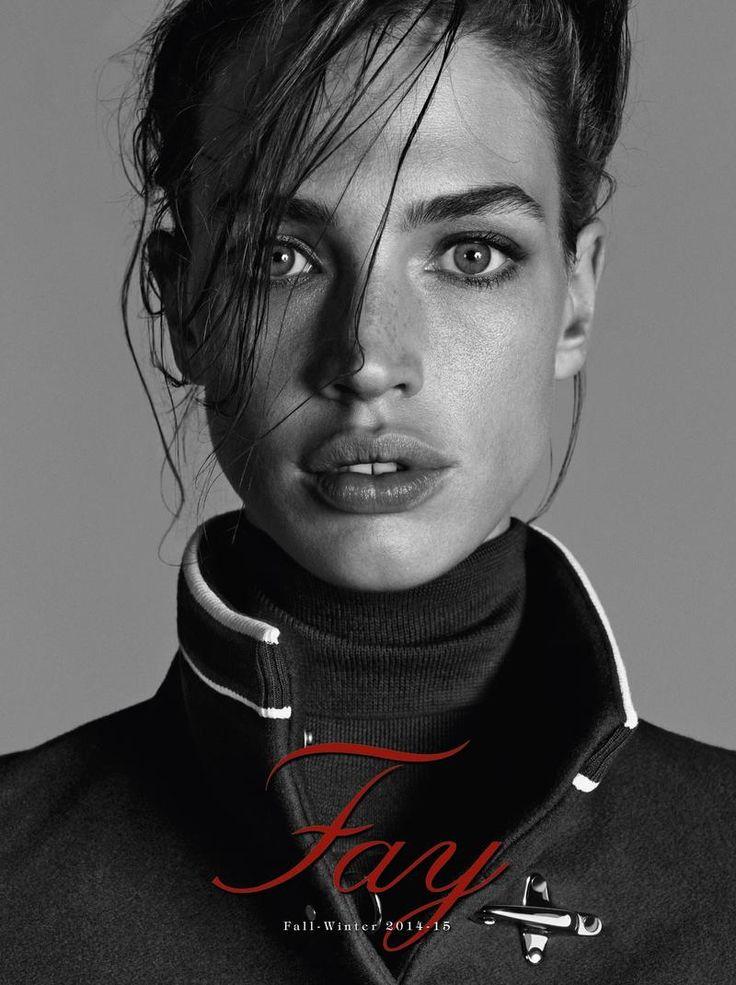 Model Crista Cober for Fay F/W 14