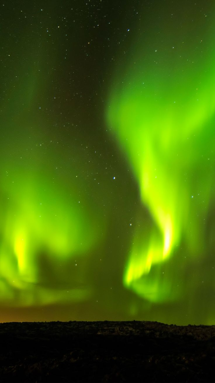 Iceland northern lights wallpaper #Iphone #android #wallpaper #iceland more like this on wallzapp.com