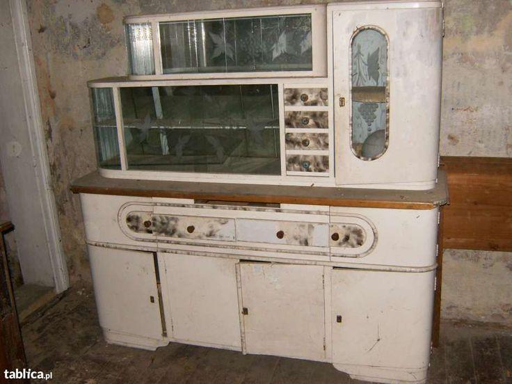 Znalezione obrazy dla zapytania kredens kuchenny