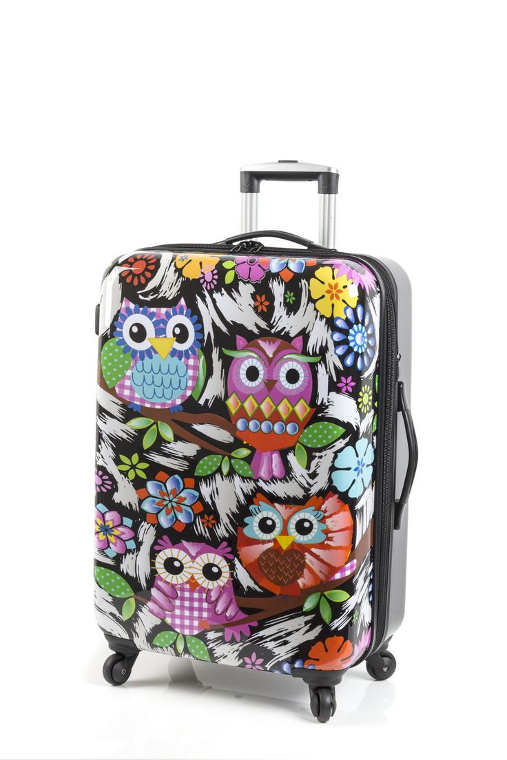 #theluggageporter #leporteurdebagages  Night Owl Rosetti luggage www.theluggageporter.com