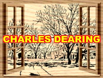 The trees have lost their leaves. Winter is here. Seen through open windows from Scroll Saw Pattern designer Charles Dearing.