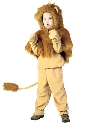 Real cowardly lion costume - photo#6