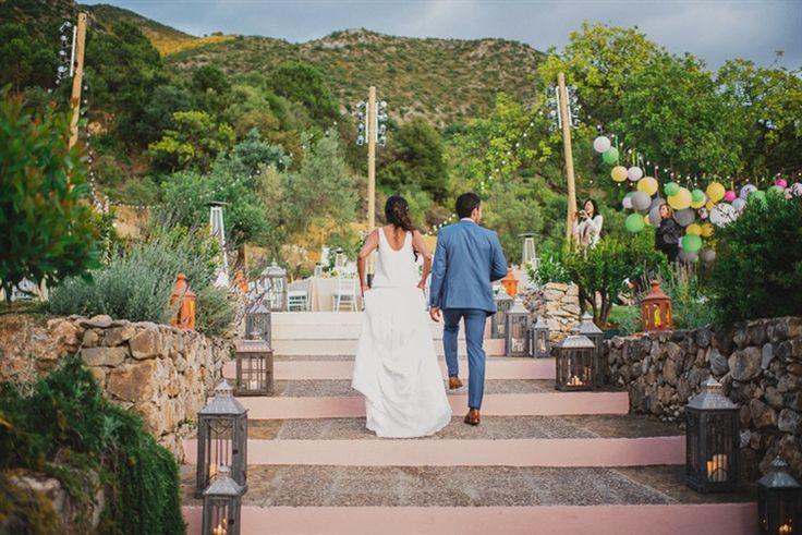 Shilpa Amp Eguiar S Boho Garden Mountain Wedding Spain Marbella Spain Wedding Venues And Weddings