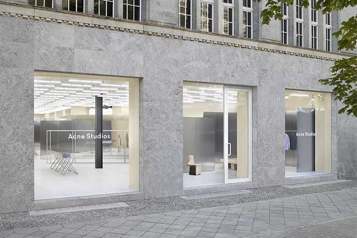 Acne Studios 新ショップが Berlin にオープン