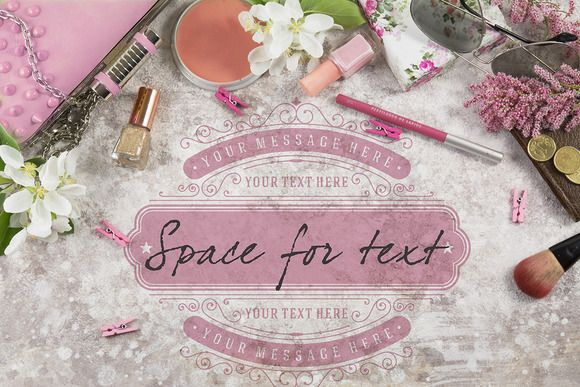 Styled woman scene background by SZ IMAGE on Creative Market