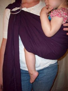 Ring Sling Tutorial  {this was so easy to make!}