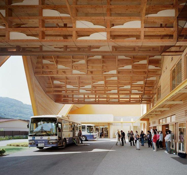 cloud ceiling. inariyama special education school by atsushi kitagawara architects. JAPAN.