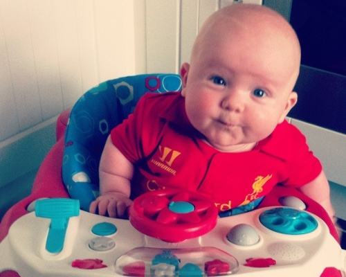 Babies in kits: 19 - Liverpool FC