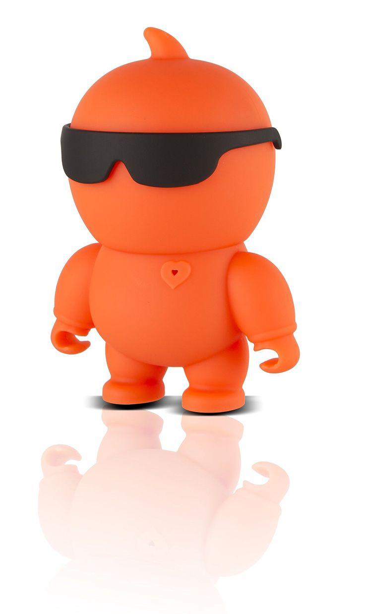 Polaroid FUN Wireless Bluetooth Mini Speaker (Orange)