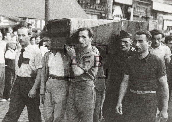 Spain - 1937. - GC - la Barcelona de Orwell