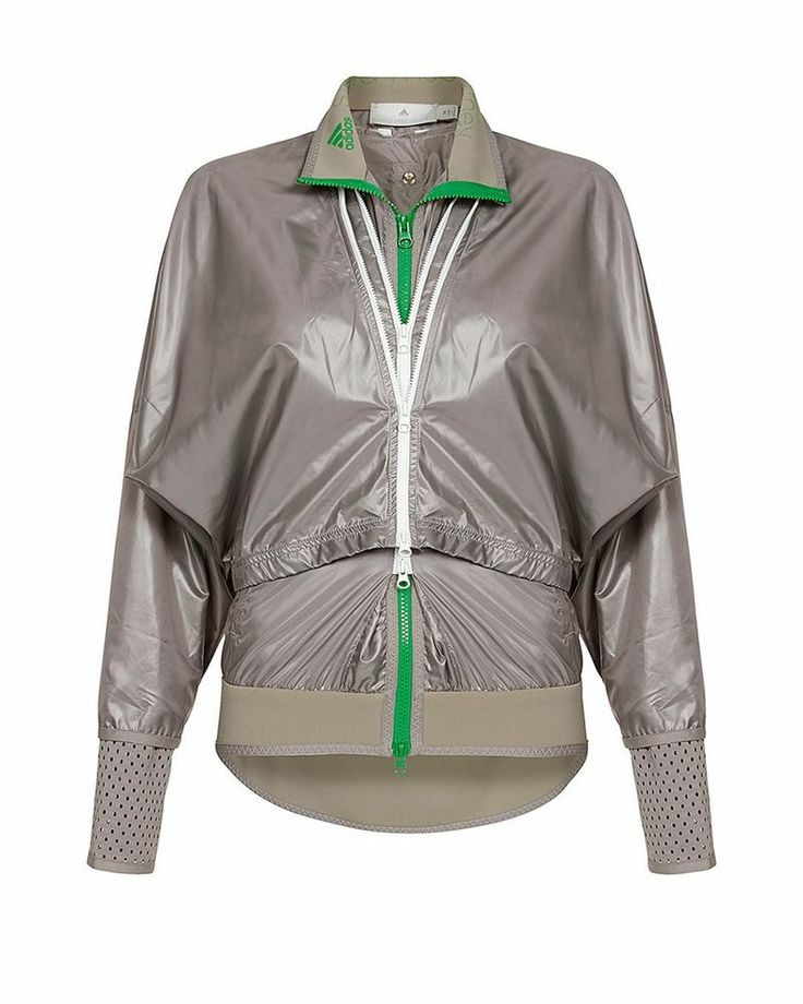 $225 2014 adidas BY STELLA  McCARTNEY RUN NYLON JACKET SIZE S
