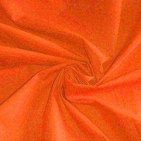 Katoenen Poplin Stof Oranje