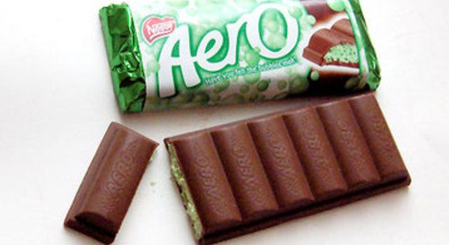 Mint Aero Cheesecake