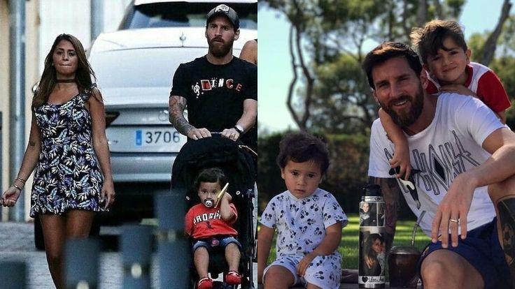 La esposa del futbolista le dedicó unas especiales palabras a su marido y padre de sus hijos Thiago y Mateo
