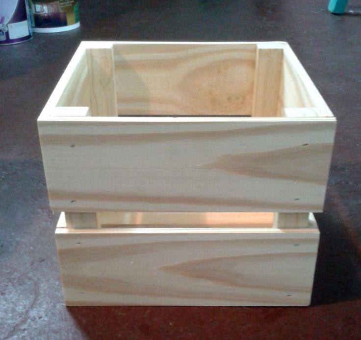 Cajones de madera cajas decoradas en decoraci n para el for Decoracion en madera para el hogar