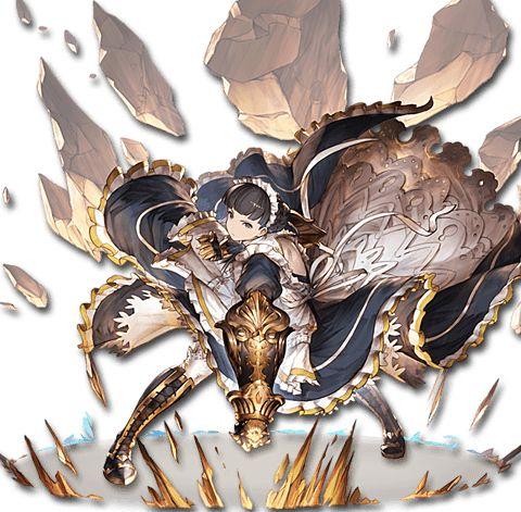 [鉄拳の侍女]クラウディア : グランブルーファンタジー 全キャラクター画像・担当声優まとめ - NAVER まとめ
