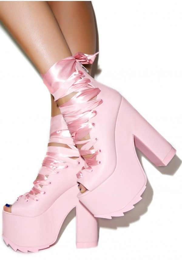 Y.R.U. Ballet Bae Platforms...OMG I need these in my life / too cute!