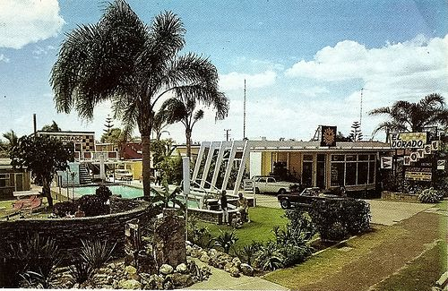 ElDorado Motel, Gold Coast One of the first American style motels in Australia c1973