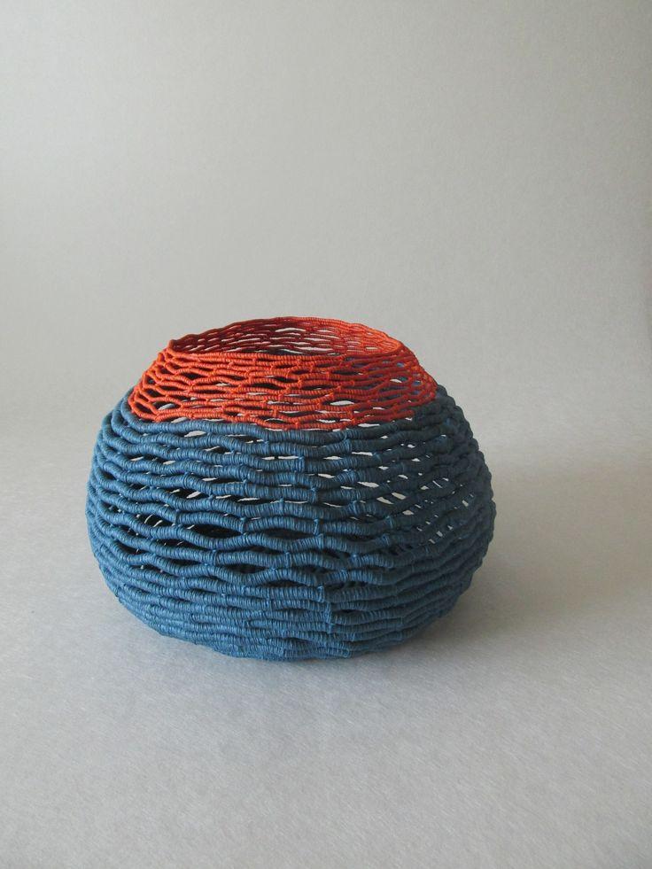 - Anne Birgitte Beyer. Paperyarn and waxed linen thread.