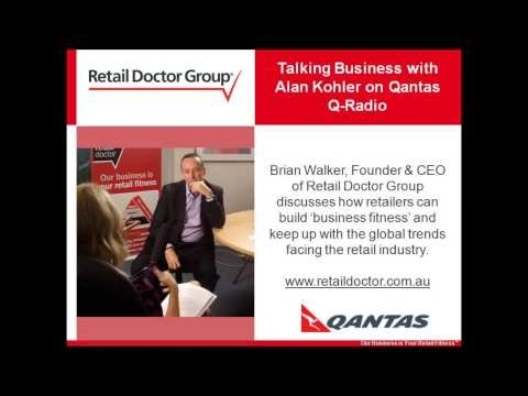 Brian Walker, Founder & CEO of Retail Doctor Group discusses how retailers can build 'business fitness' and keep up with the global trends facing the retail industry. #retail #business