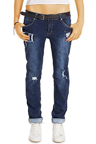22760002a4b7 bestyledberlin - Jeans - Baggy - Femme - bleu - W40