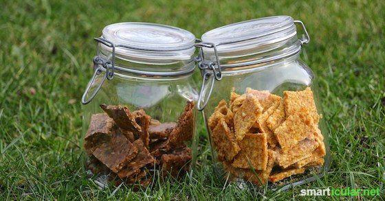 Rohkost-Plätzchen und Cookies als gesunder Snack