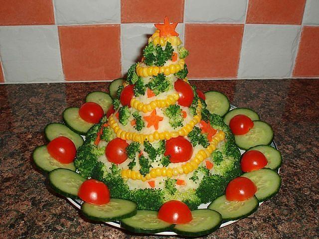 Decoration salads revelion pinterest essen funny for Decoration salade