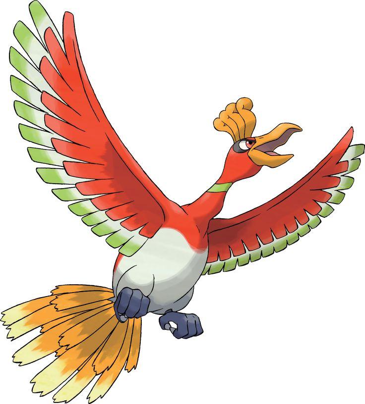 Image result for ho oh pokemon