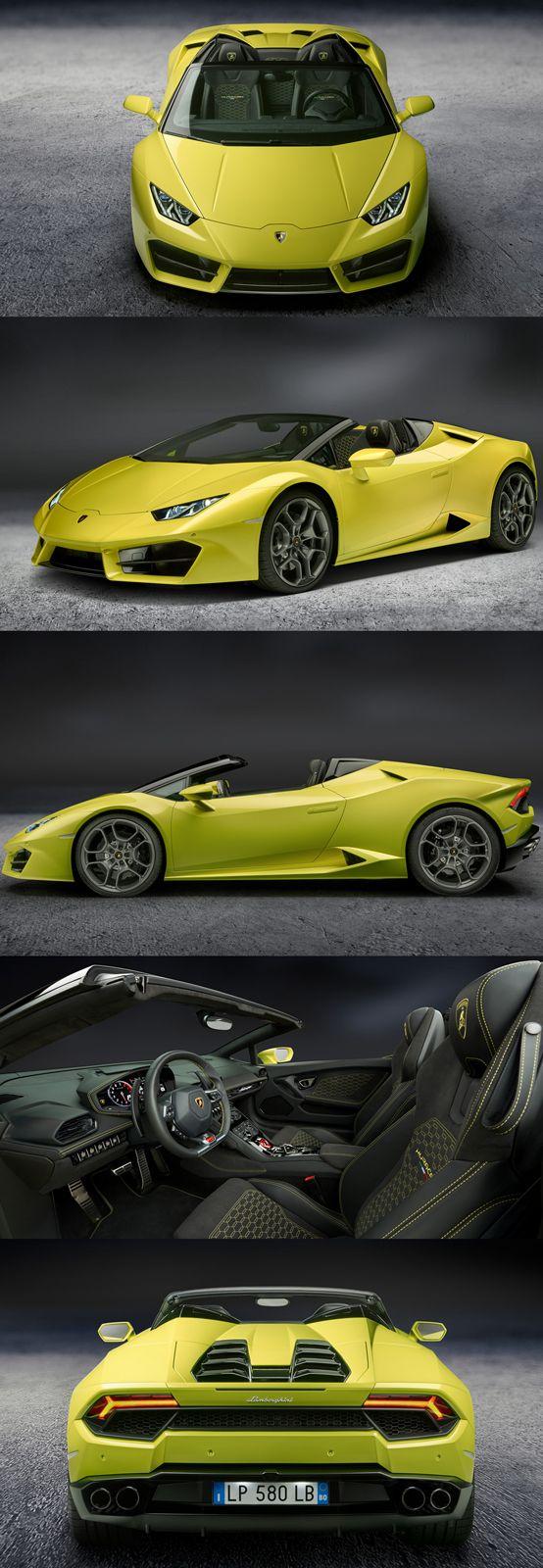 New Lamborghini Huracán RWD Spyder
