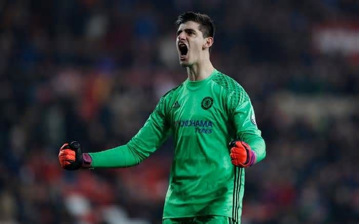 How Thibaut Courtois got back to his best to lift Chelsea to Premier League's summit #thibaut #courtois #chelsea #premier #league #summit