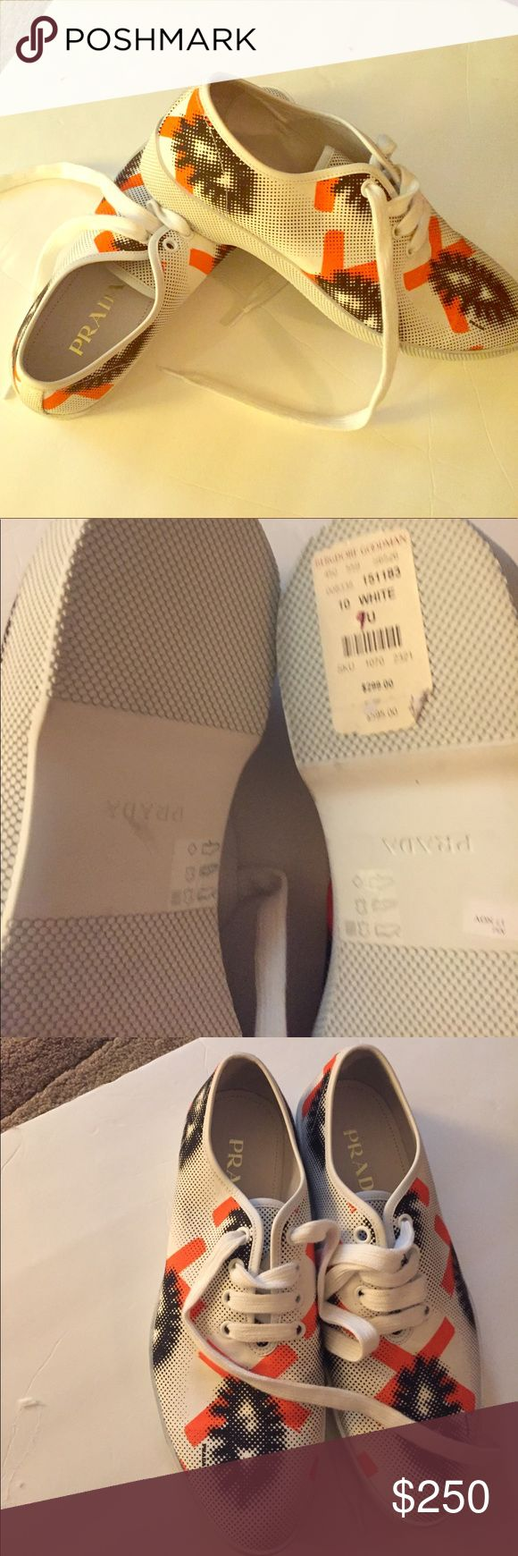 Men Prada shoes Men Prada shoes  size 11💯💯authentic 💥💥 Prada Shoes Athletic Shoes