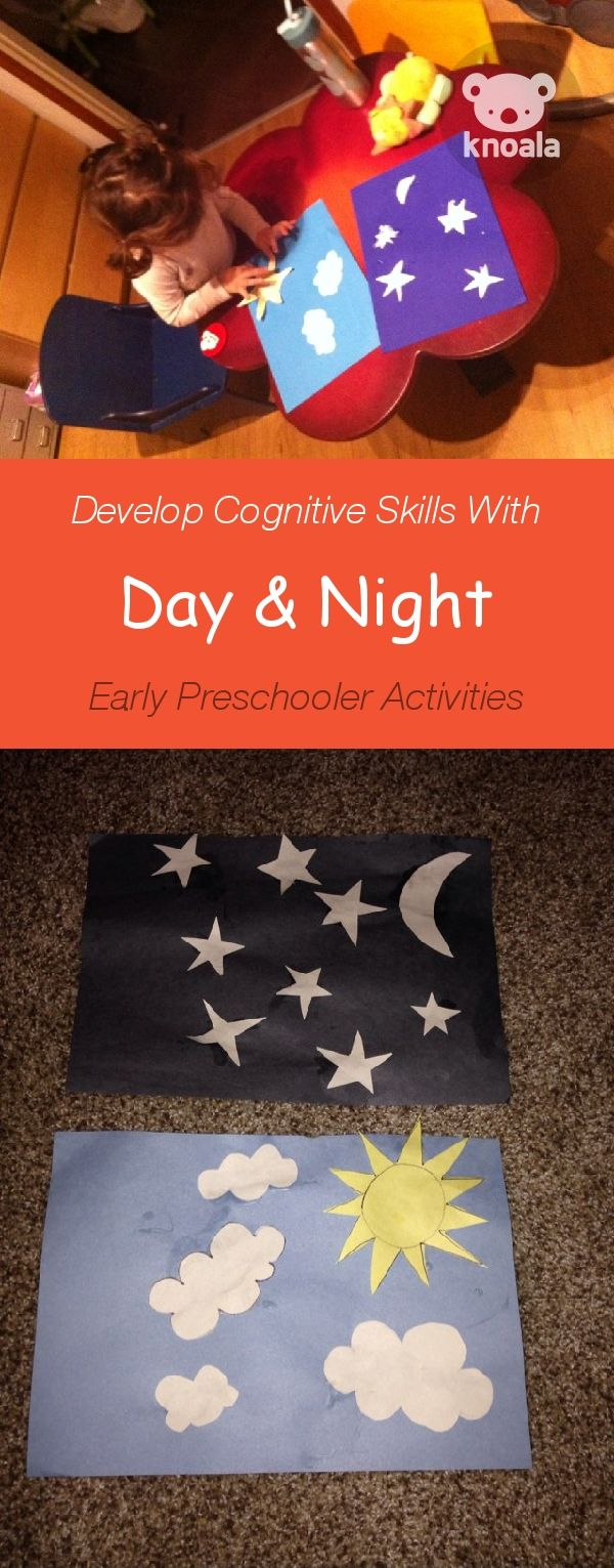 Knoala Early Preschooler Activity Day Night Helps Little Ones Develop Cognitive And