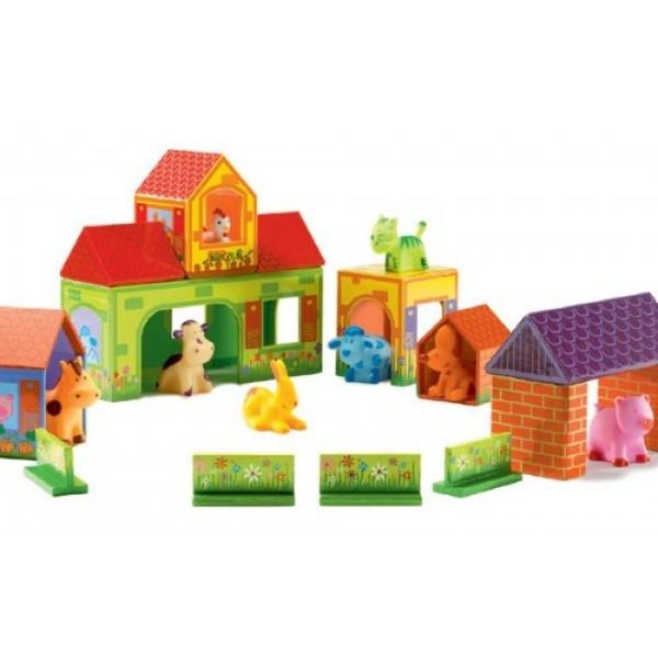 Djeco Zanimoferme Fun Blocks