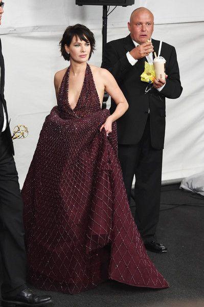 Lena Headey Photos - 67th Annual Primetime Emmy Awards - Press Room - Zimbio
