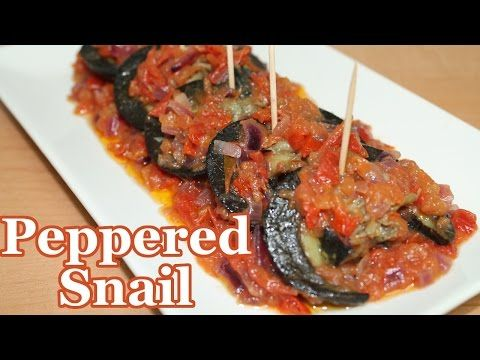 Peppered Snails | All Nigerian Recipes - YouTube