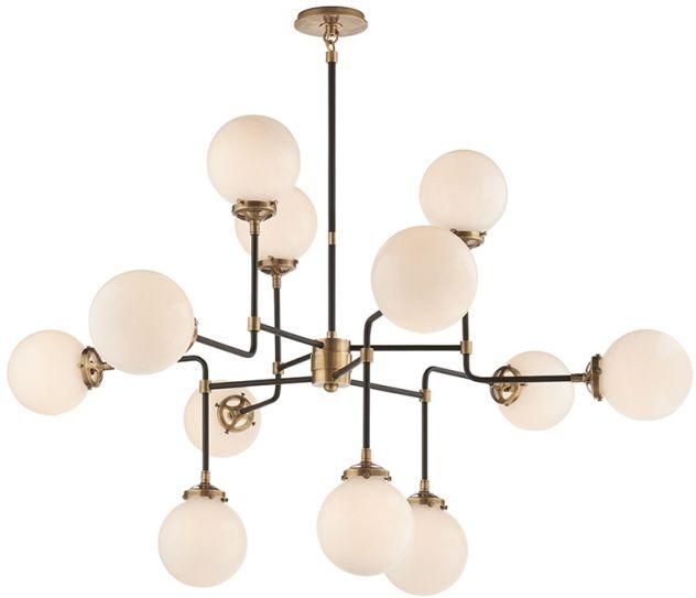 visual comfort bistro chandelier available for pre order. Black Bedroom Furniture Sets. Home Design Ideas