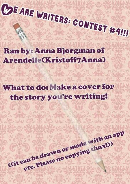 Yay!! New contest ran by me! Ill post the judging categories later