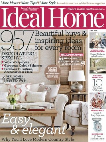 Perfect Ideal Home Magazine   April 2014