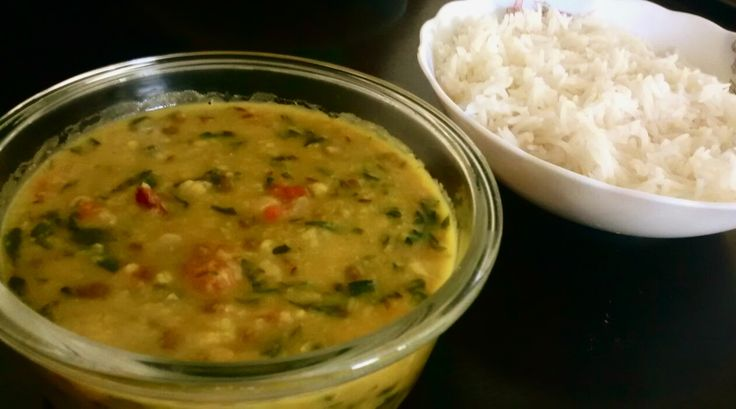 Methi dal recipe – Mixed dal (lentils) with methi leaves (fenugreek leaves)