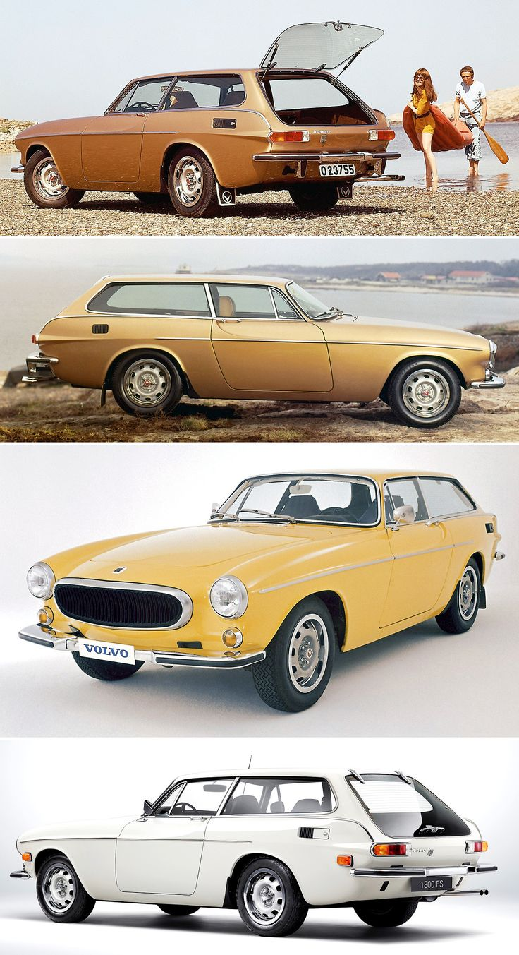 Volvo 1800 ES, The Shooting Brake Version Of The Coupe Was Only Produced  For 2 Years With Cars Made In Total.