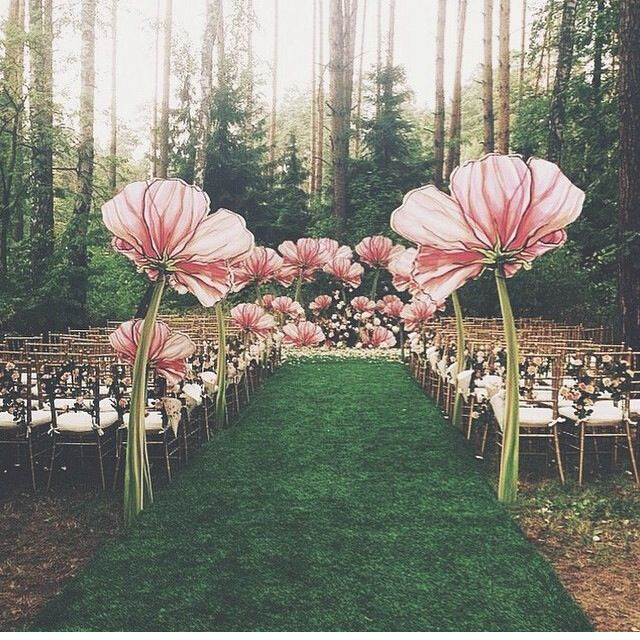 494 best wedding ceremony and aisle decorations images on pinterest magical ceremony decor junglespirit Choice Image
