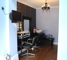 Image of home salon with top quality equipment