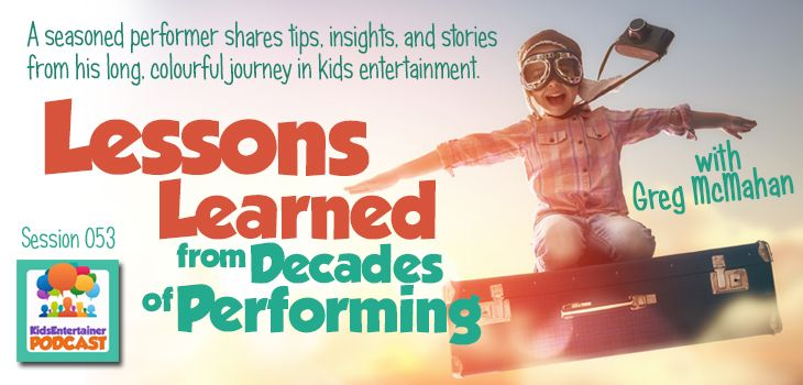 "We all can use practical advice, insights, encouragement, and yes, even ""horror"" stories from one another. Here are some from a seasoned fellow kids entertainer: http://kidsentertainerhub.com/lessons-learned-from-perform…/"