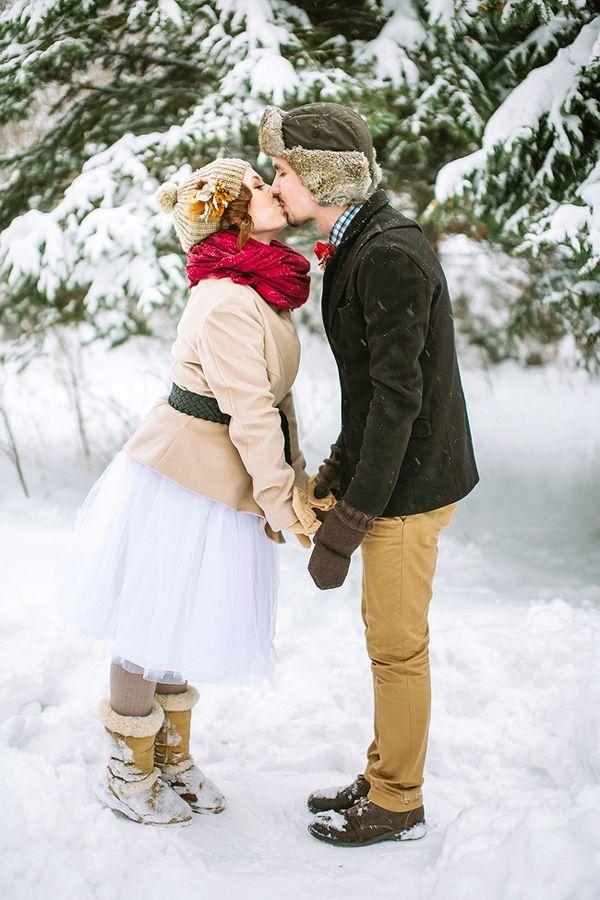 Свадебная фотосессия зимой: как подготовиться?