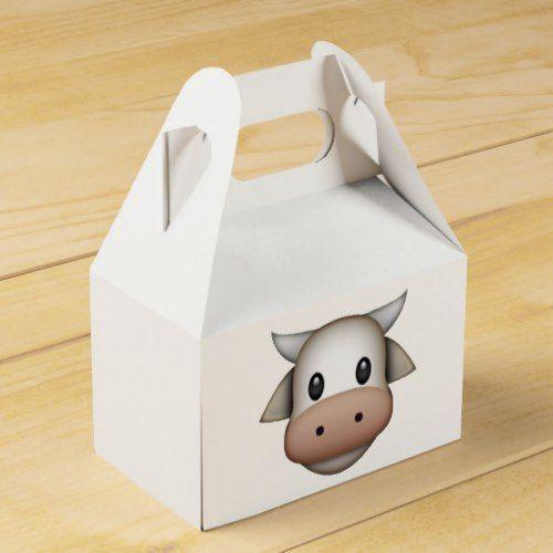 Cow - Emoji Favor Box
