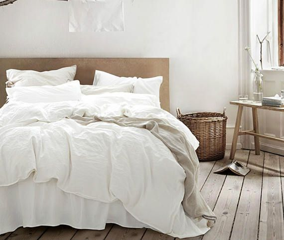 white duvet cover white comforter white linen duvet cover
