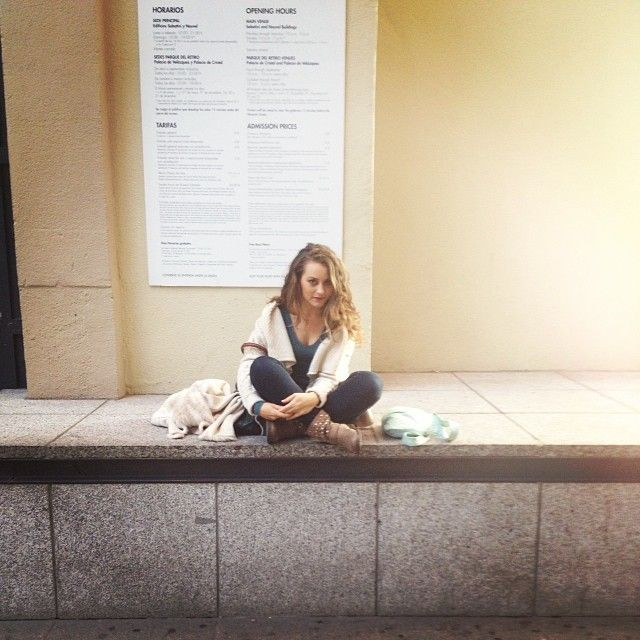 #iphonephotografy #instagrammer #instagramers  #iphoneonly #instadaily #igaddicted #iphonesia #instatips #instamood #madrid #città #city #reinasofia #museo #museum