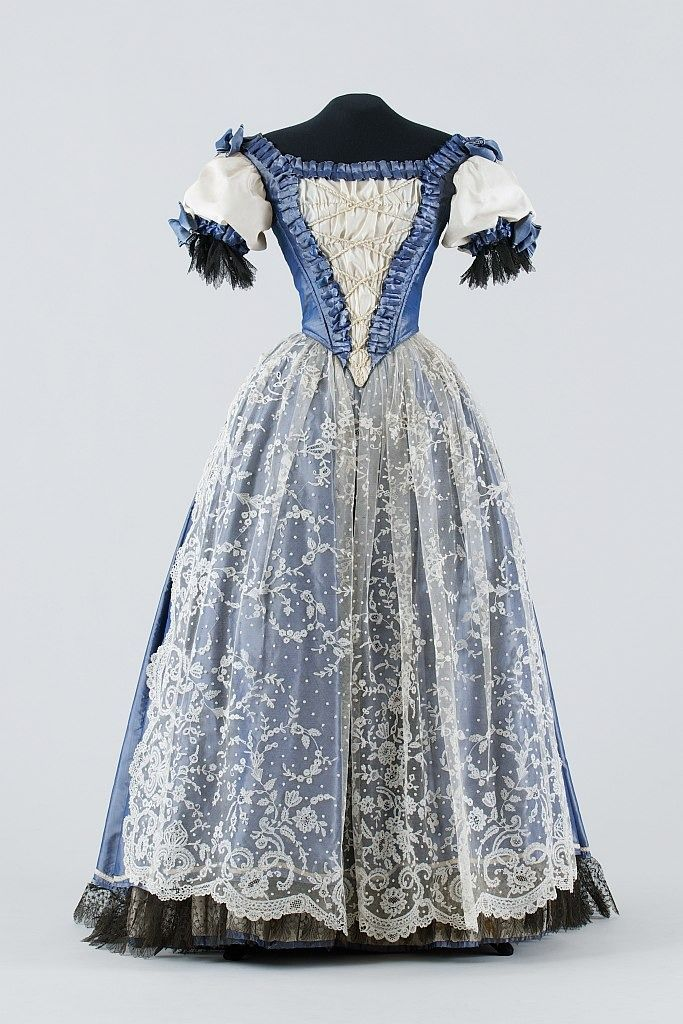 """Possible Court Dress c.1870 Hungary Museum of Applied Arts, Budapest """