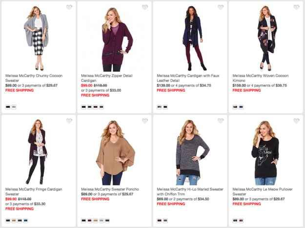 Here's Melissa McCarthy's Clothing Line, Now Available For Sale