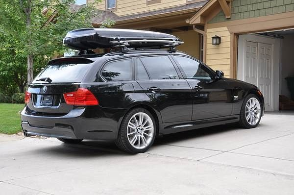 E91 Unicorn Inno Whispbar Thule Bmw Wagon Roof Box